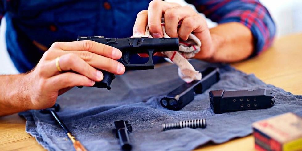 Handgun Breakdown & Cleaning Class