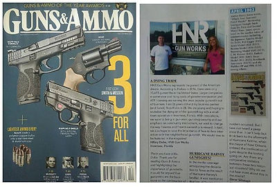 Guns and Ammo HNR Gunworks Magazine