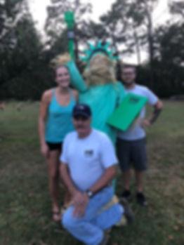 Statue of Liberty Scarecrow HNR Gunworks