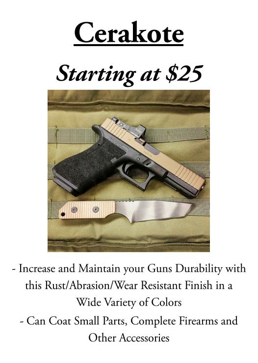 HNR Gunworks | Mail Order Gunsmithing | Gunsmith Repair | PVD gun |