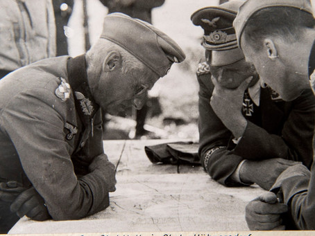 Diaries of commanders in chief (part 1)