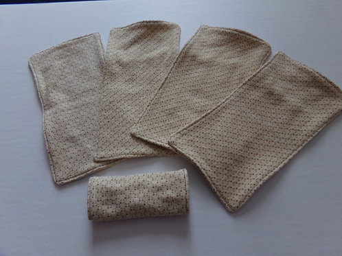 Tissus hygiénique, papier de toilette en tissus de La boîte imaginaire de Jonathan