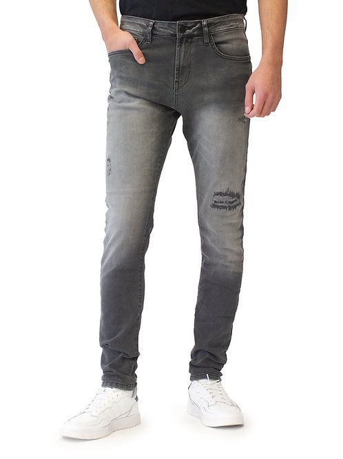 Lost in Paradise Vince Tapered grey destroyed