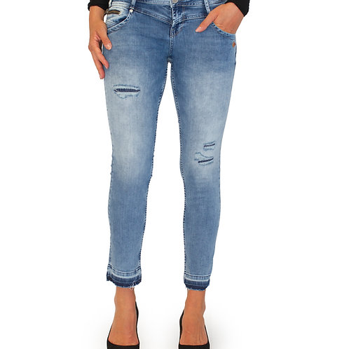 Lost in Paradise Kathy Zip Ankle cropped destroyed