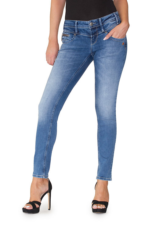 Lost in Paradise Kathy Zip Straight midblue used