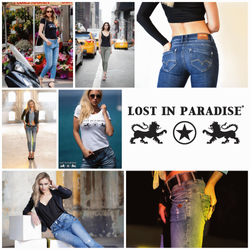 Lost in Paradise We and Friends Jeans für Damen