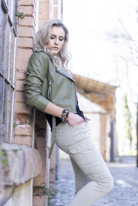 Lost in Paradise Jeans Kathy Cargo olive Jeans Trends für Damen