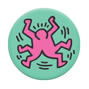 PopSockets -Keith Haring ( Split Figures )