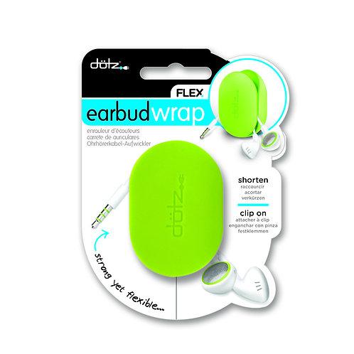 Dotz Flex Earbud Wrap ( Lime )
