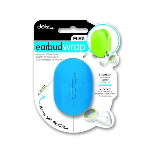 Dotz Flex Earbud Wrap ( Cyan  )