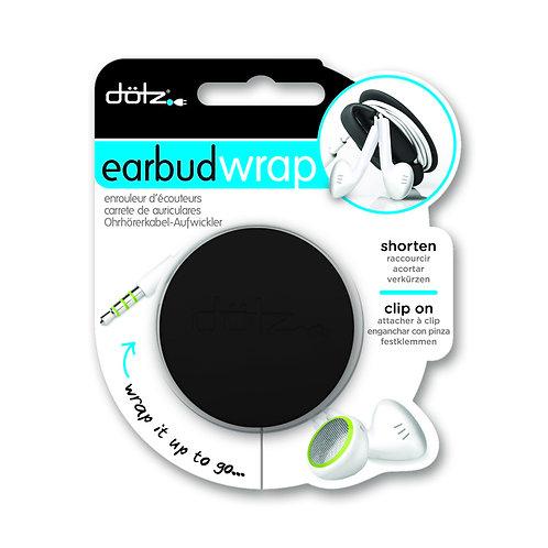 Dotz - Ear bud Wrap ( Black )