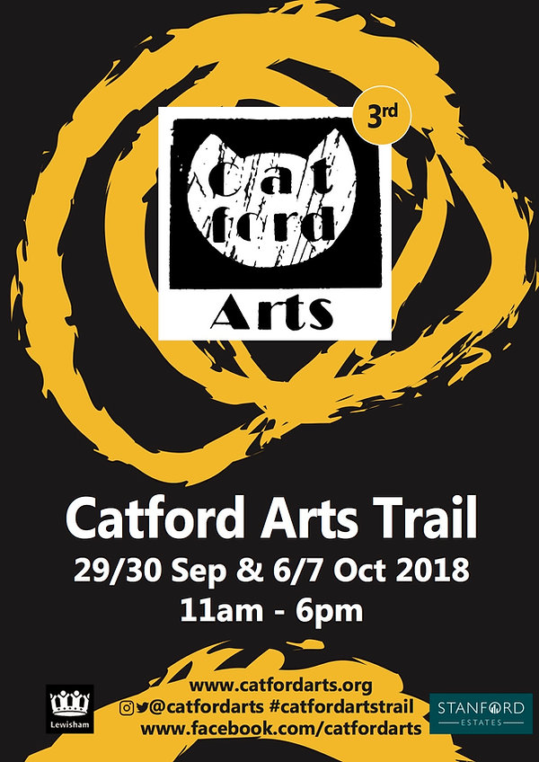 Catford Arts Trail 3rd SE6 29/30 September 6/7 October