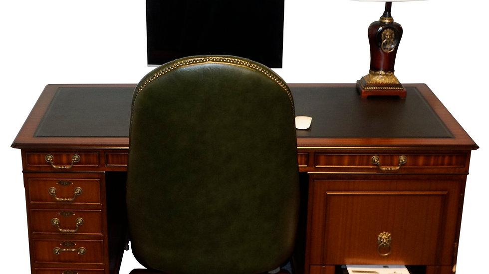 Hjemmekontor Skrivebord 157x70cm Laptop Desk