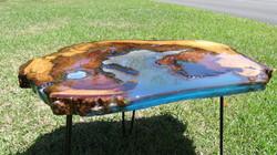 Resin Enhanced End Table