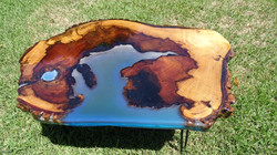 Resin table to appear- crater pool