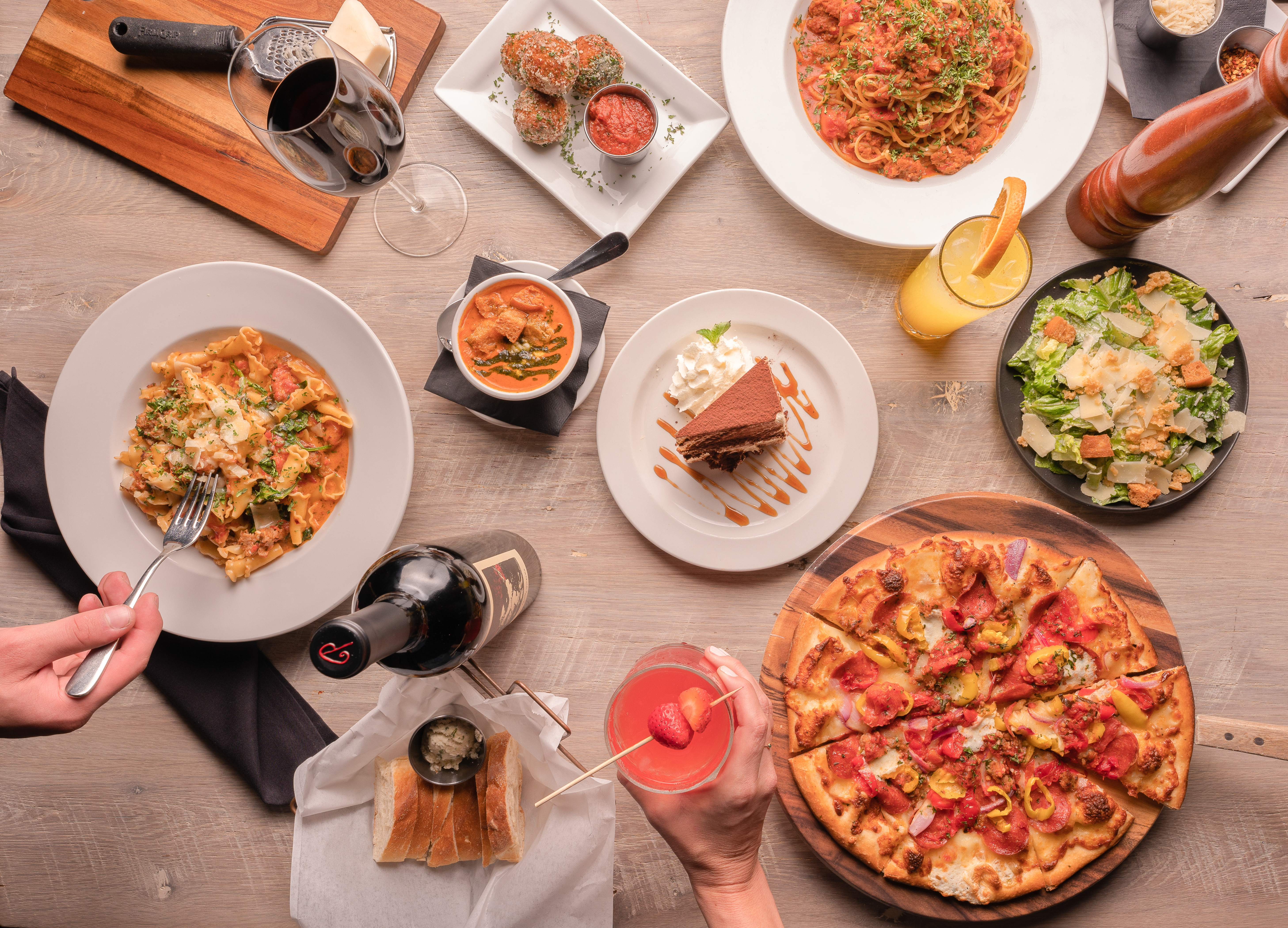 20 items, Drinks and Food Inspiration