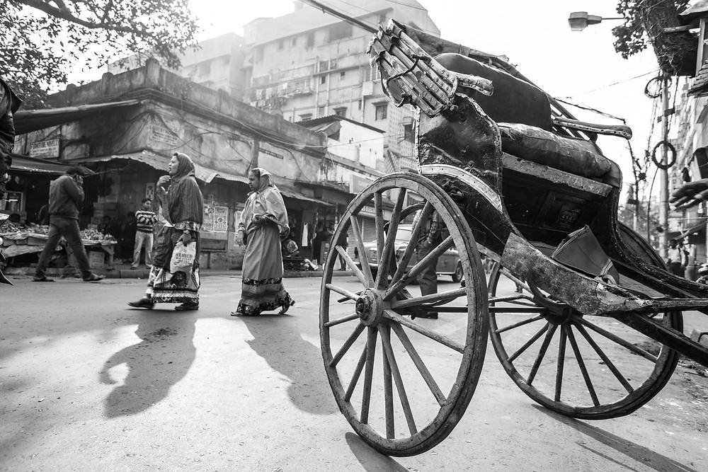 Human Horse Rickshaw _ 1month1project
