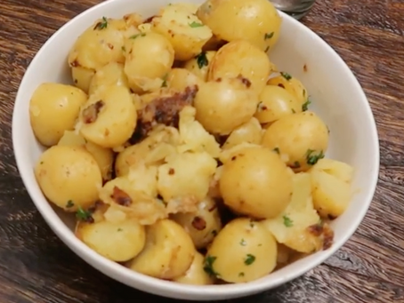 Lemon Parsley Potatoes