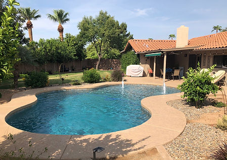 Pool Remodel in Surprise with Pebble Sheen