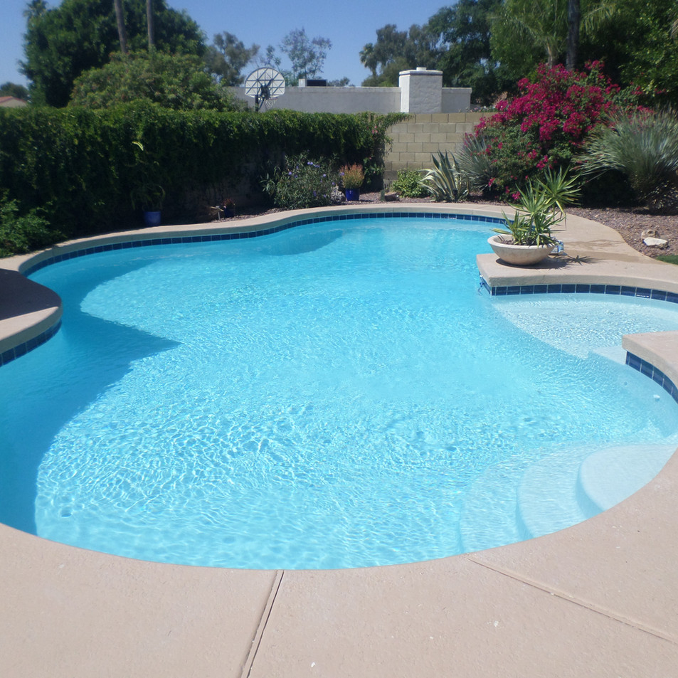 Ultra Poz Pool After Remodeling