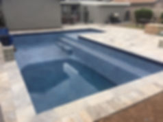 When you have to drain your pool. We sometimes replace the pool motor because it locks up. We work in Scottsdale Replasting Pools