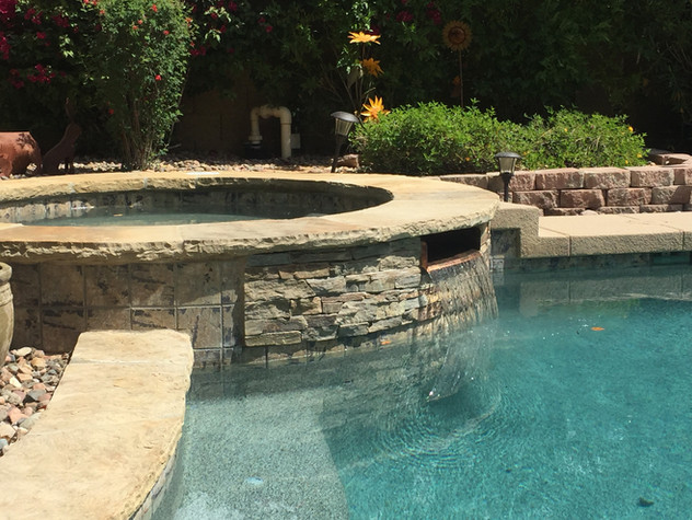 Swimming Pool / Spa Spillway Conversion