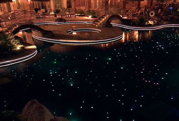 Star Floor Options for Fiber Creations of Arizona. Star floor installations in swimming pools in Scottsdale, Cave Creek, Phoenix, Chandler and Glendale.