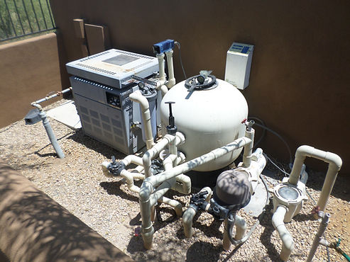 Old Pool Equipment in Scottsdale AZ that has leaks. Pool Pump not priming.