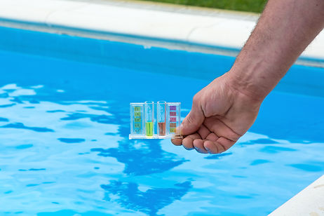 Swimming Pool Water CHemistry is a very important procedure to make sure your plaster or pebble tec pool does not turn green. We recommend balancing your water after pool resurface. We recommend providing a weekly maintenance to balance chemicals in swimming pool.