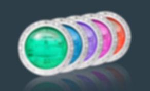 Pentiar Intellibrite 5g Color LED Pool Light Fixture Installed in Scottsdale, Glendale, Phoenix and Chandler Arizona.