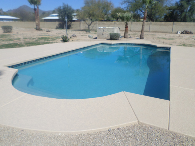 Pool Resurface in Scottsdale with Irish Myst Pebble Sheen