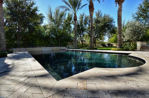 Black Satin Pebble Sheen Swimming Pool
