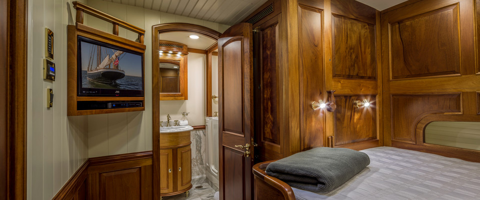 Master Stateroom: looking aft