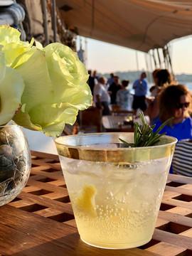 Elderflower, Limonchello, and Champagne