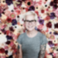 Flower Wall by Daniel Childress