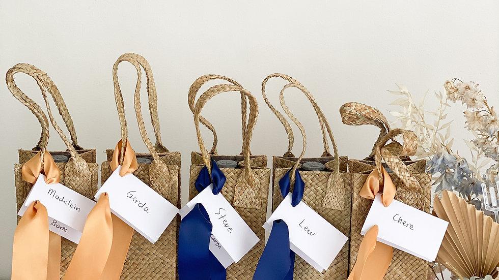 Handwoven Wine bag
