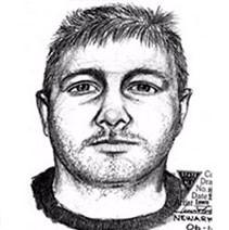 Sketch of man last seen with Carla