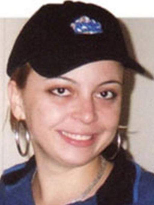 Carla in her White Castle uniform