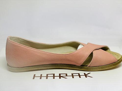 【ハンドメイドシューズ_Women】LSAW_Salmon Pink