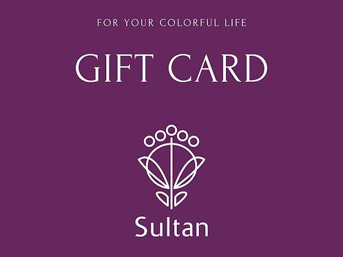Sultanギフトカード_Purple
