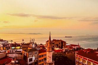 トルコイスタンブールの街並み