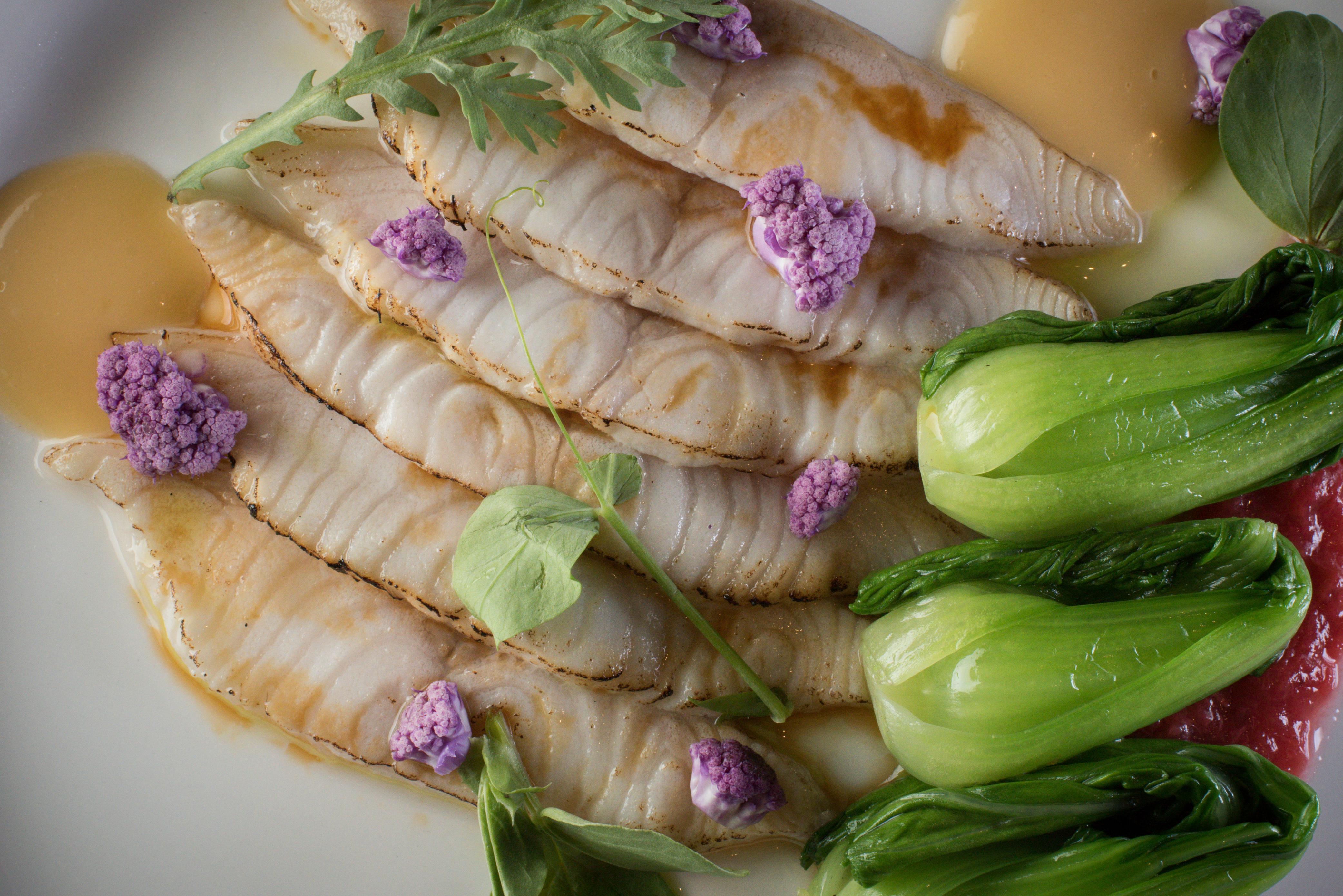 Sablefish tataki