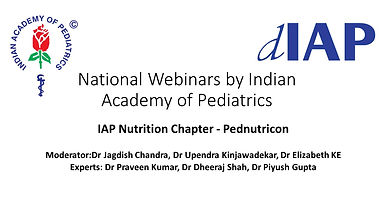 IAP Nutrition Chapter - Pednutricon