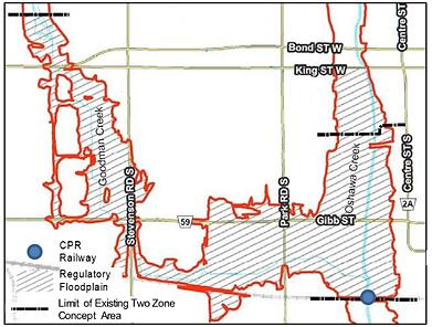 Oshawa Goodman Creek - Two-Zone Study Ar