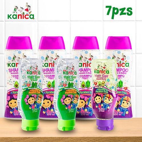 Kanica Kit Big Kids de Gel y Shampoo