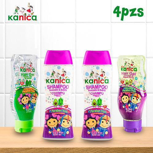 Kanica Family Kit De Gel Y Shampoo