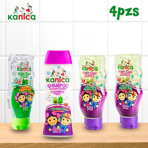 Kanica Kit De Gel Y Shampoo