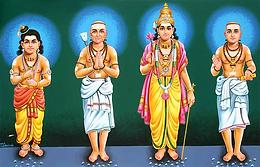 Qui sont le quatre grands saints tamouls ?