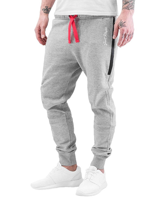 Just Rhyse Big Pocket Jogger Sweatpant grau