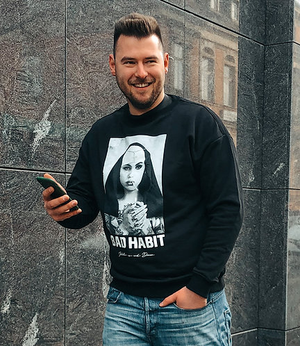 Bad Habit Pullover schwarz
